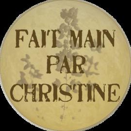 fait main par Christine