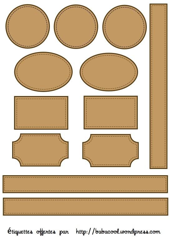 Tiquettes imprimer pour vos pages d t babanew - Etiquettes personnalisees gratuites a imprimer ...