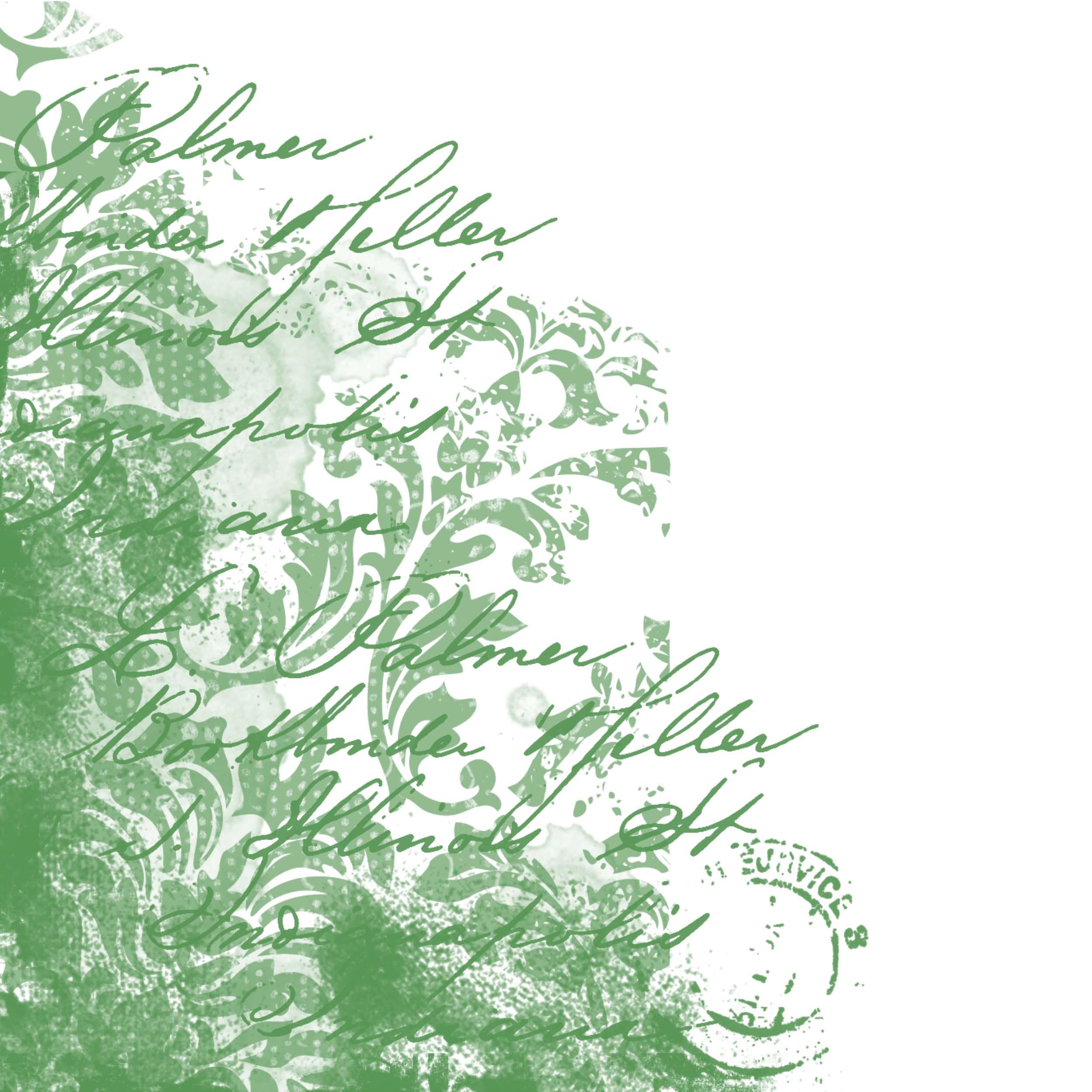 fond de page vert
