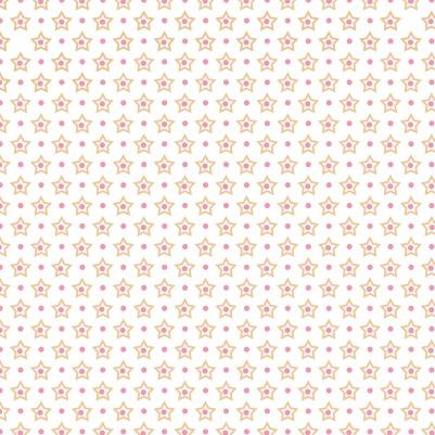 papier étoilé rosé