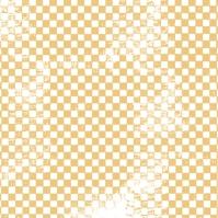 Pâques damiers jaunes