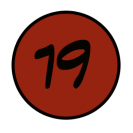 19 rouge