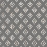 carrés beige sur gris