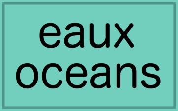 eaux oceans