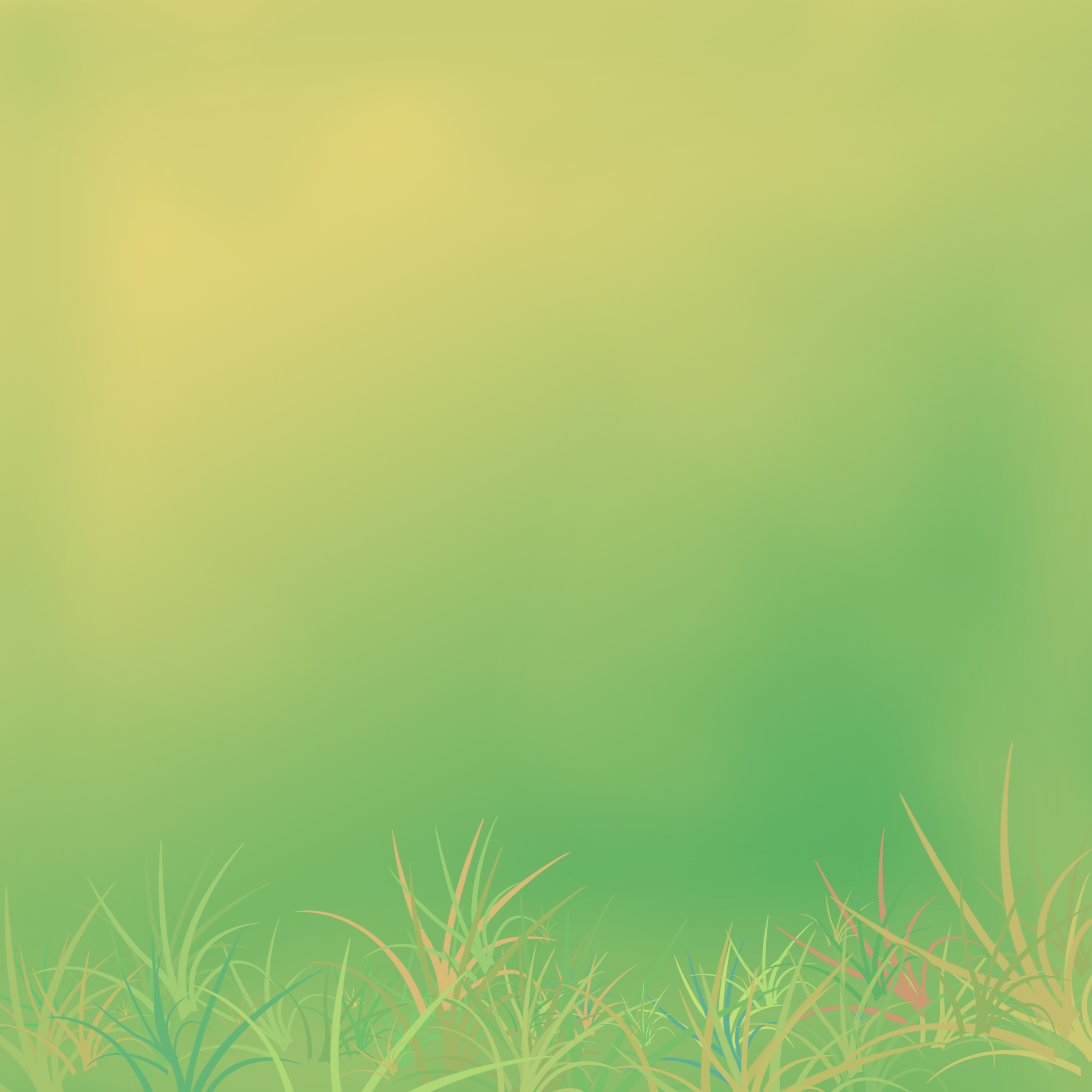 Deux sortes de fonds, des dégradés de jaune/vert et du damassé….