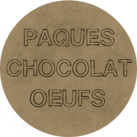 PAQUES CHOCOLAT OEUFS