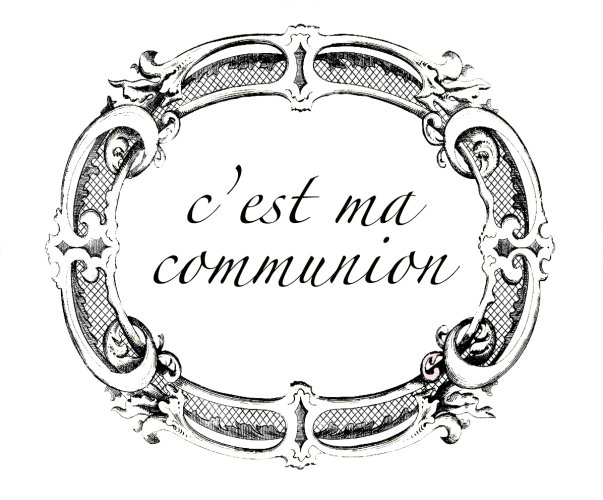 cadre renaissance communion