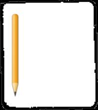 étiquette crayon vide
