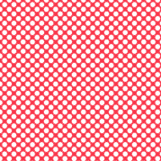 fond rouge à pois blanc