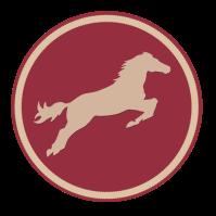 cheval lie de vin
