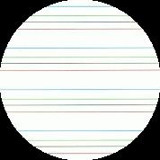 macaron ligné coloré