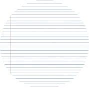 macaron papier ligné