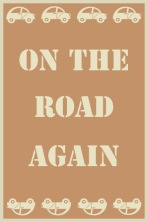 on the road orange brun