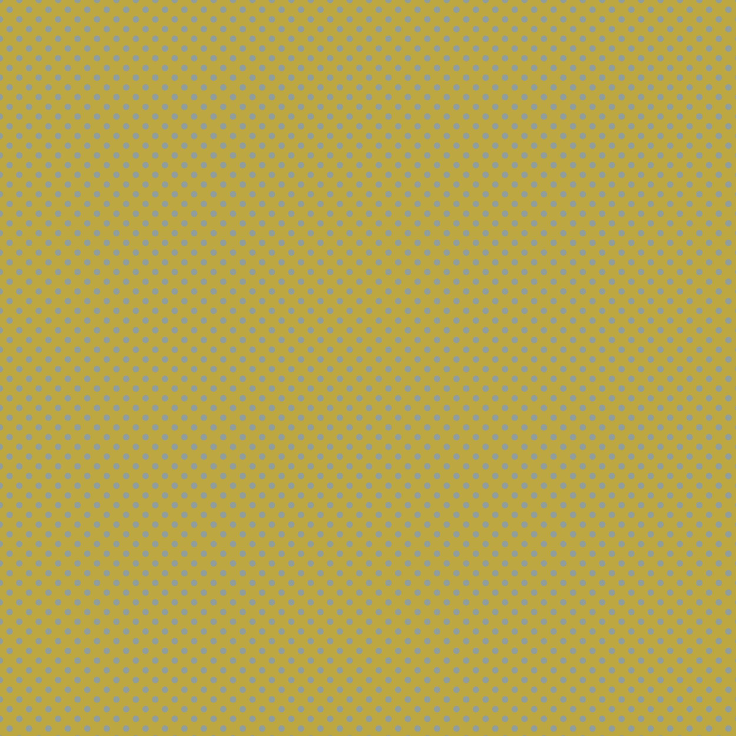 Fond Doré petits pois bleus sur fond doré | babanew