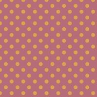 pois jaune sur fond rose