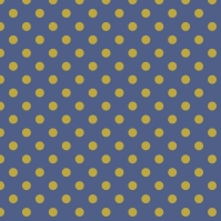 pois jaunes sur fond bleu