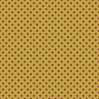 pois rouges sur fond doré