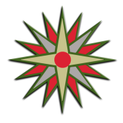 étoile multicolore copie