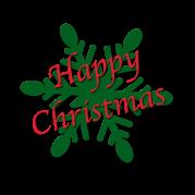 Happy Christmas flocon