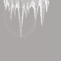 papier gris stalactites blanches