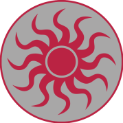 tag soleil rouge