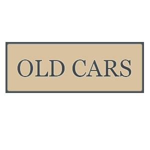OLD CARS JAUNE