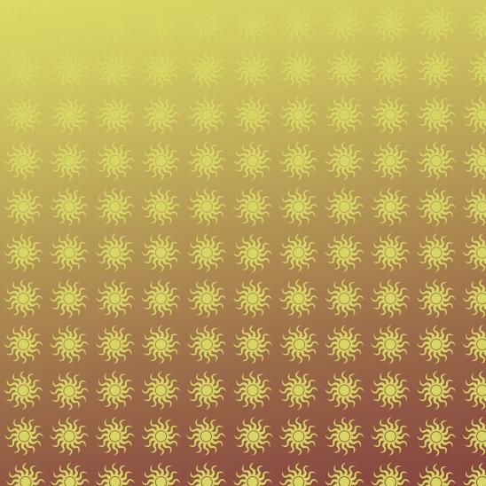 paques soleils jaunes