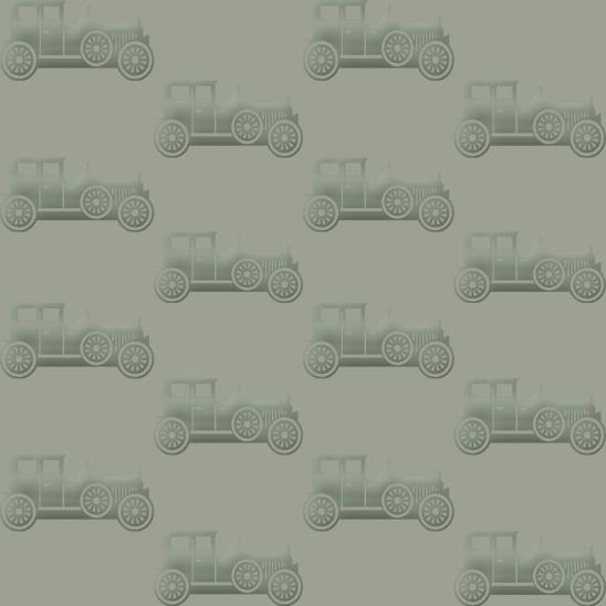 vieilles voitures vertes sur fond vert