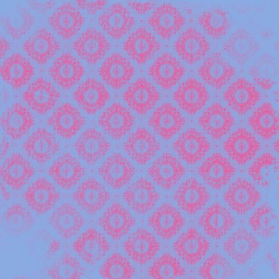bleu fushia