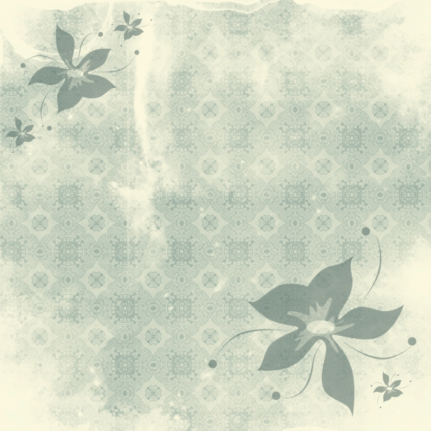 tapisserie jaune verte fleurs vertes
