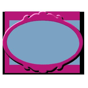 étiquette rouge bleue