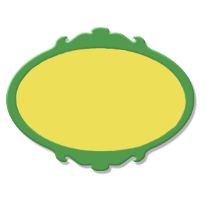 étiquette verte jaune