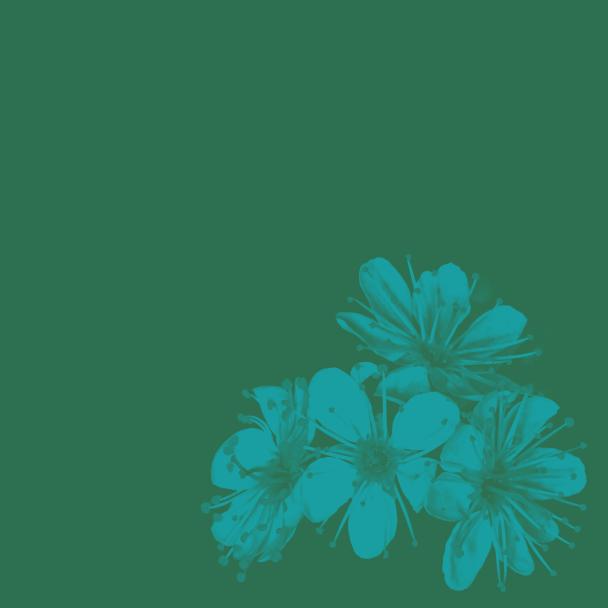 été vert turquoise