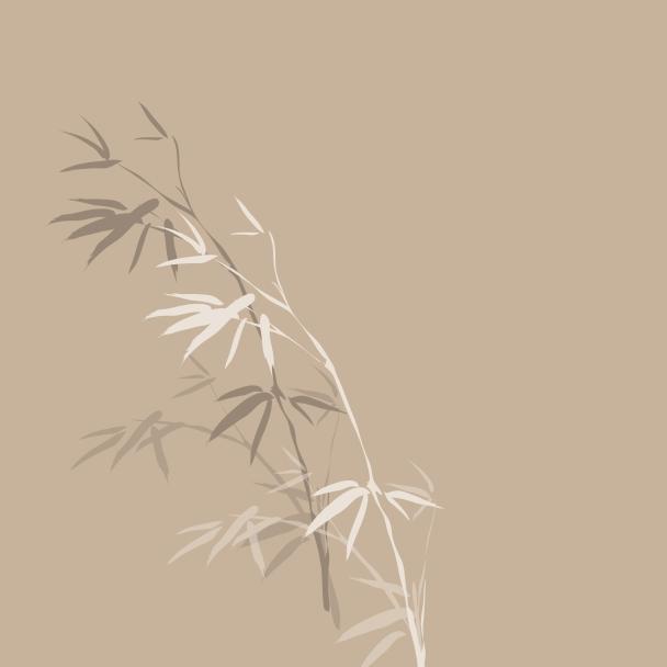 bambou beige brun blanc