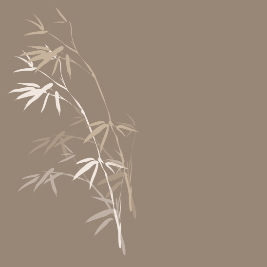 bambou blanc beige brun