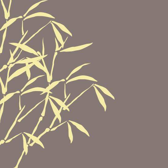bambous brun jaune