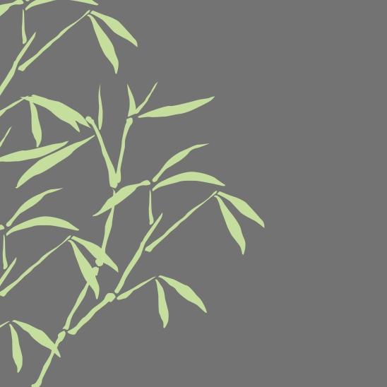 bambous gris vert