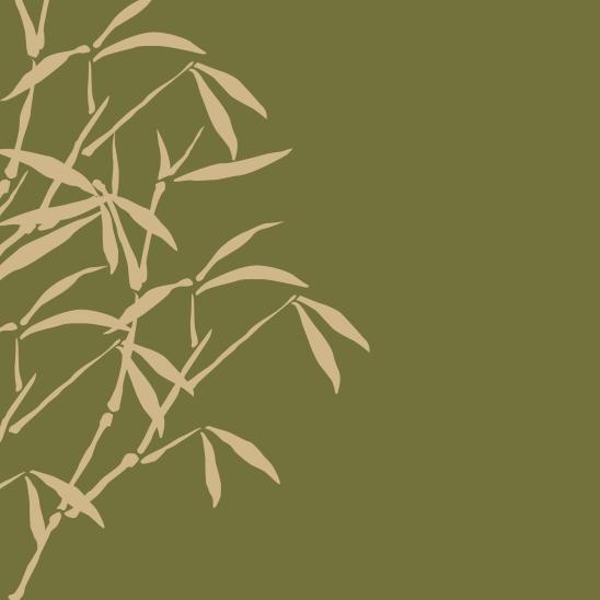 bambous vert beige