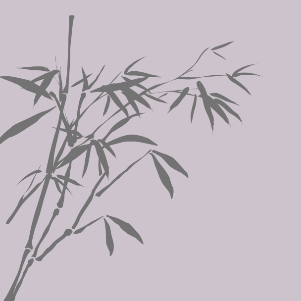 bambous violet brun