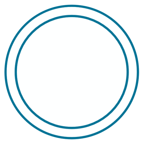 tag deux ronds blanc bleu