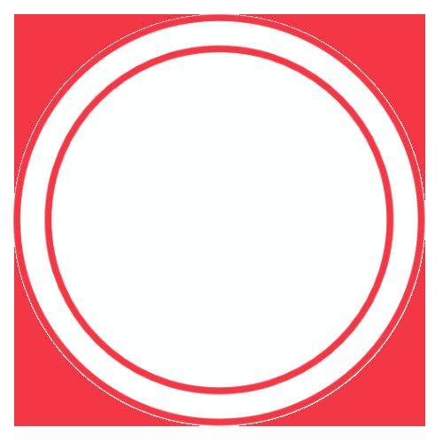 tag deux ronds blanc rouge