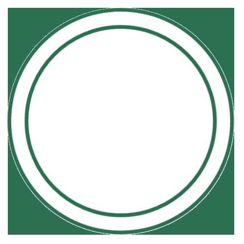 tag deux ronds blanc vert