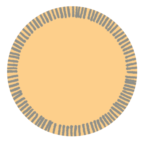 tag jaune brun