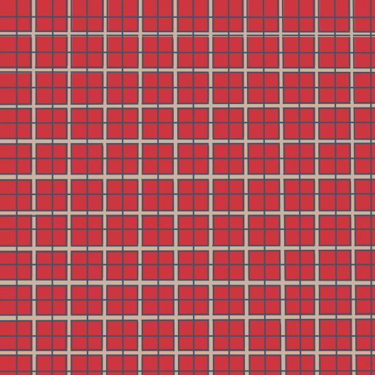 tartan rouge