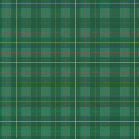 écossais vert rouge