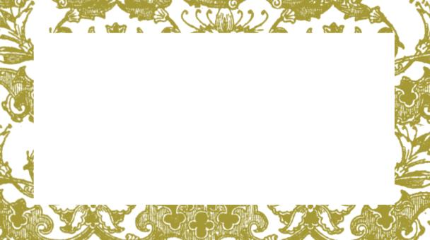étiquette bords dorés
