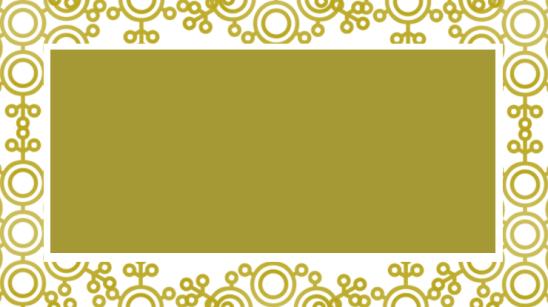 étiquette noel doré arabesques