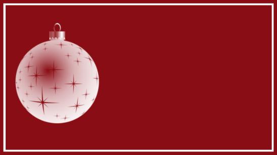 étiquette rouge boule