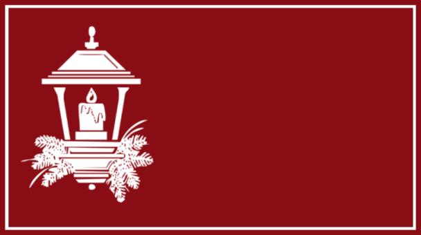 étiquette rouge lanterne