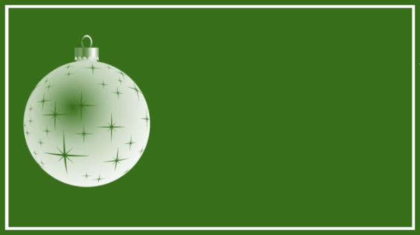 étiquette vert boule